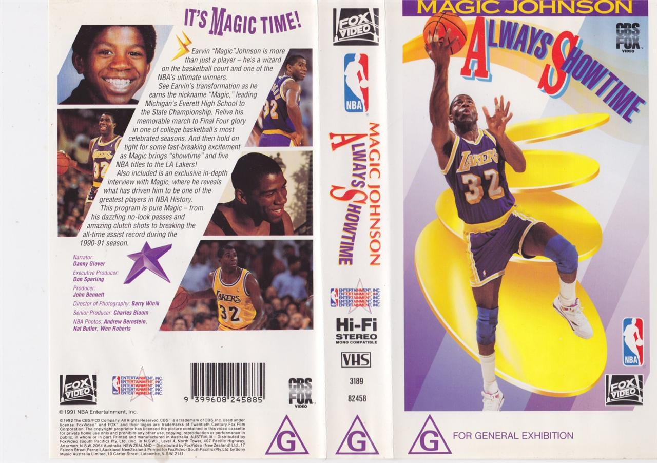 Incredible layup by Magic Johnson in 1985 + Always Showtime Full Movie