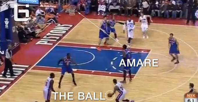 Amare Stoudemire dunks on Luigi, gets lost on defense & wears Ugg boots