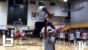Ballislife | Air Dogg Dunk Over Tyga