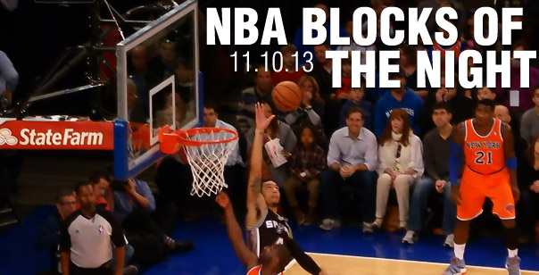 Top Blocks of the Night: Ibaka, Bledsoe, Green & Adams (11.10.13)