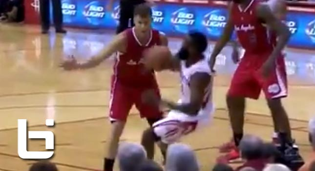 James Harden Gets Fined For Ridiculous Flop vs Clippers