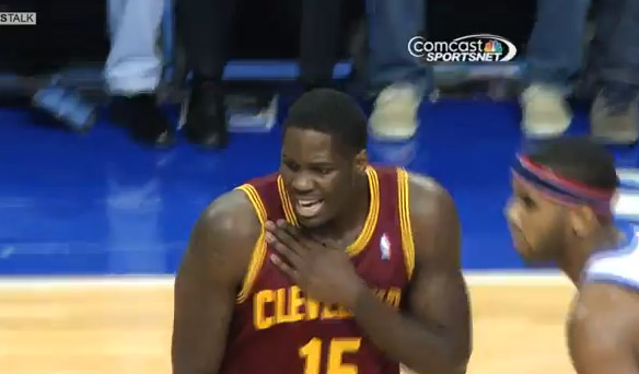 Anthony Bennett sprains right shoulder and leaves game scoreless…again