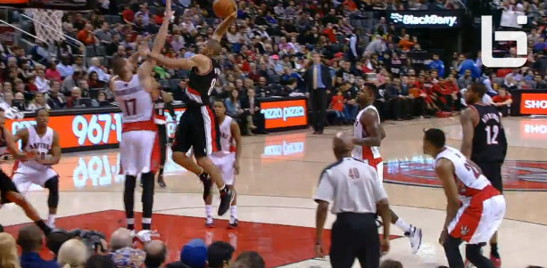 Dunk of the Night: Nicolas Batum dunks on Jonas Valanciunas
