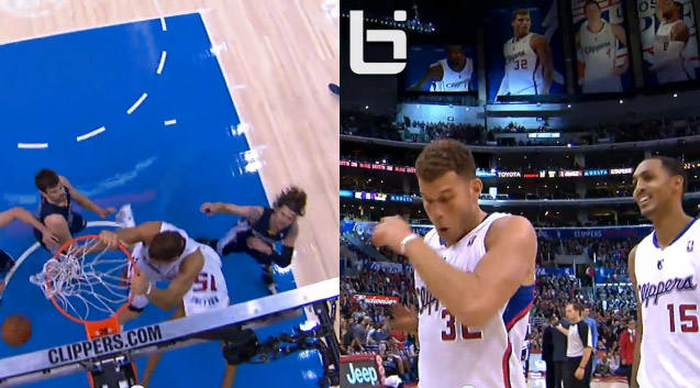 Blake Griffin posterizes his own teammate – Ryan Hollins