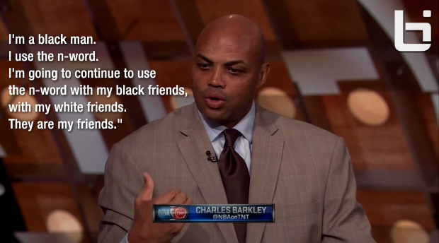 "Charles Barkley discusses the ""N-word"" on Inside The NBA"