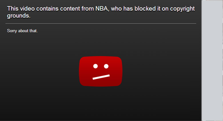 Why would the NBA block a video of the Orlando Magic honoring T-Mac on YouTube?