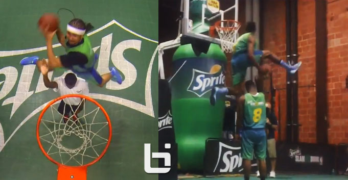 Sir Issac vs Kenny Dobbs Crazy Dunk Contest in Dallas