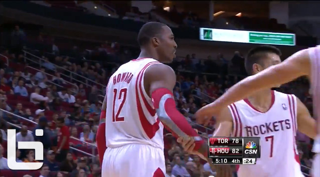 Dwight Howard pushes Jonas Valanciunas: Foul or Flop
