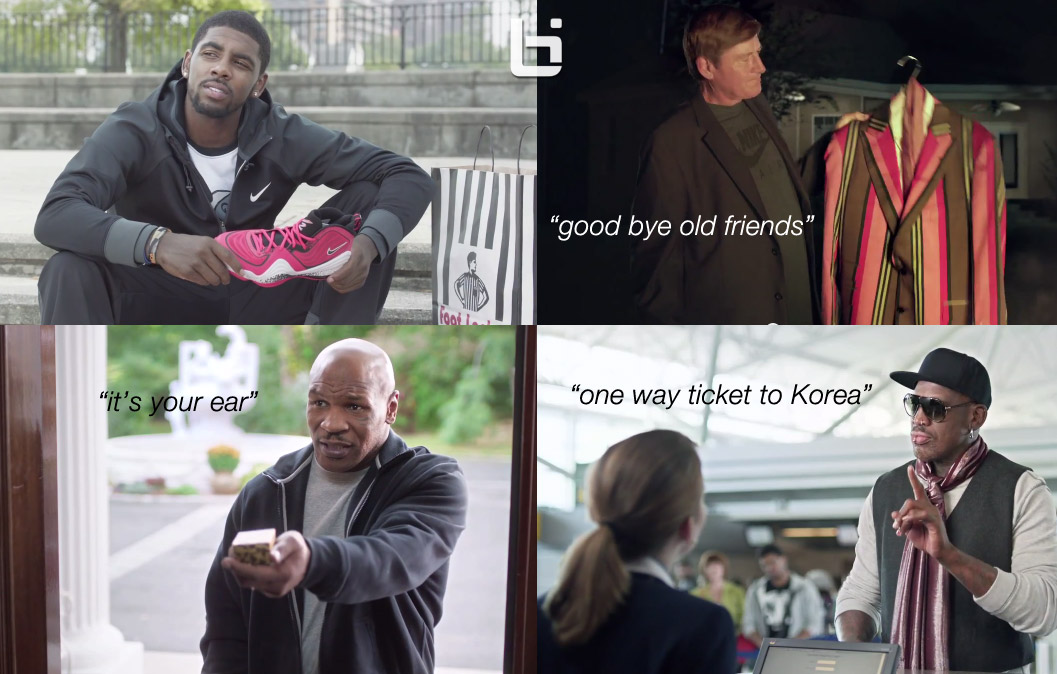 Week of Greatness commercial might be Foot Locker's Greatest ad yet  (Kyrie Irving, Rodman, Tyson, Favre)