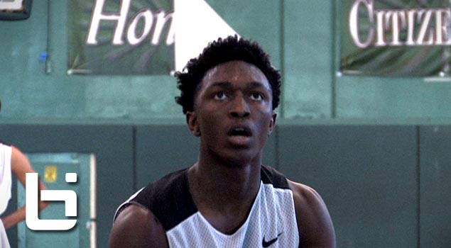 Stanley Johnson,Marcus Lovett,Aaron Holiday Go To Work At Paul Pierce Fall League