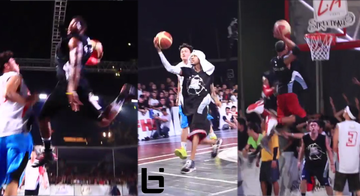 Allen Iverson plays in 2013 LA Lights Streetball Game in Jakarta | Insane Dunks