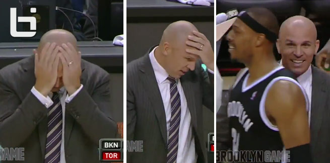Jason Kidd's Awesome reaction to the Nets ending their losing streak
