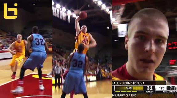 Dunk of the year? Jordan Weethee's insane dunk on Citadel