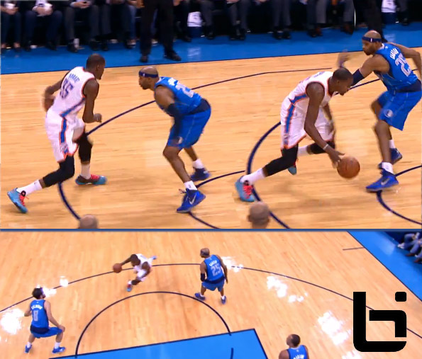 Vince Carter gets crossed up by Durant, goes scoreless & gets ejected for throwing an elbow