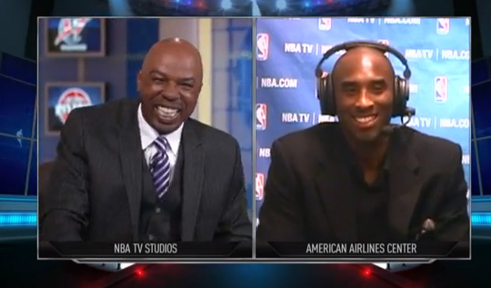 Kobe Bryant NBATV Interview about his return, Dwight Howard, Twitter & playing one-on-one