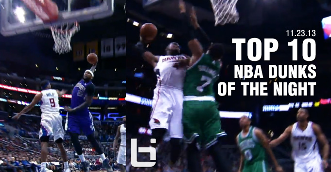 Top 10 NBA Dunks of the Night (11.23.13)