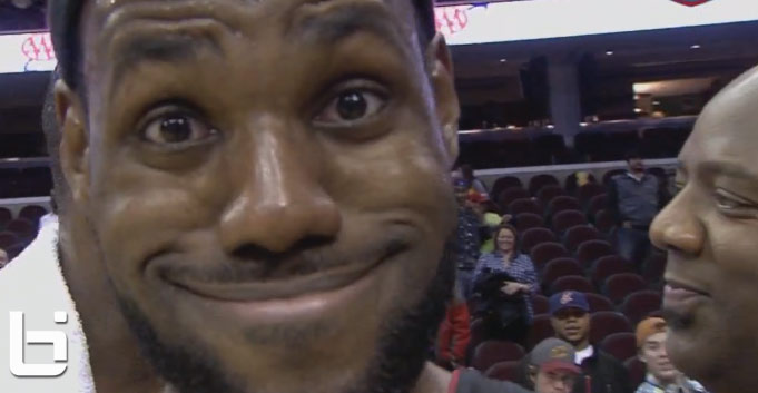 VIDEOBOMB: Return of the LeBron Troll Face