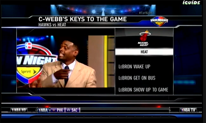 "Chris Webber's awesome ""Keys to the Game"" for LeBron vs the Hawks"