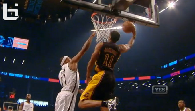 Dunk of the Night: Wes Johnson with the baseline reverse on Paul Pierce