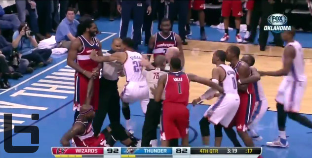 Westbrook & Nene ejected after altercation