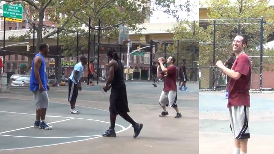 LOL Streetball: Watch Roatti The White Tiger make four 3-pointers in a row