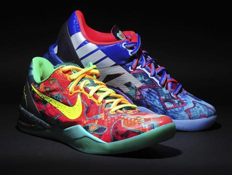 "Kobe 8 ""What the Kobe"" Sneaker Release"