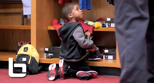 Chris Paul, His Son CP4 & Blake Griffin Star in new Footlocker Commercial