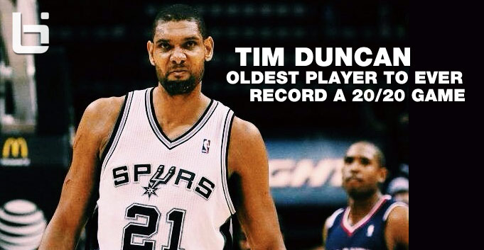 Tim Duncan 23pts 21rebs and game winner vs the Hawks