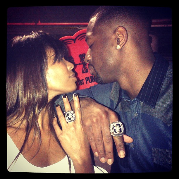 Gabrielle-Union-and-D-Wade-rings