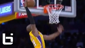 Ballislife | Kobe First Dunk