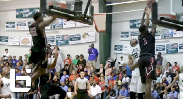 10th Graders W/ BOUNCE! Kwe Parker, Dennis Smith, & Alonzo Tyson Dominate