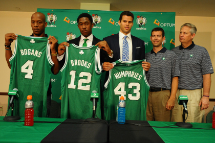 Keith Bogans, MarShon Brooks and Kris Humphries announced as Boston Celtics