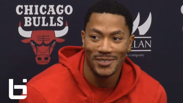 Derrick Rose Press Conference After Torn Meniscus Injury