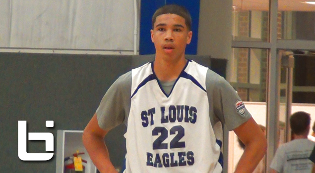 Jayson Tatum is rising to the TOP! Elite 15 year old's Summer Mixtape!