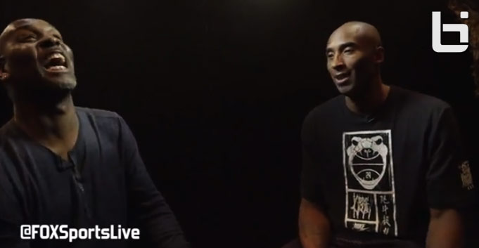 Gary Payton interviews Kobe about new contract, Nike shoes & his return