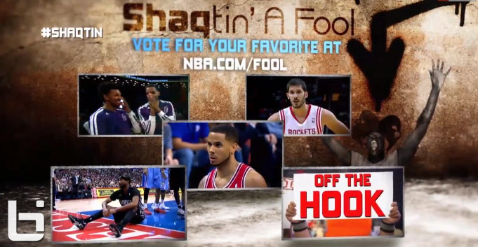 Shaqtin' a Fool with bad falls and worse hook shots (12.26.13)