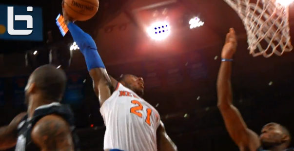 Iman Shumpert posterizes the Magic in 38 point win
