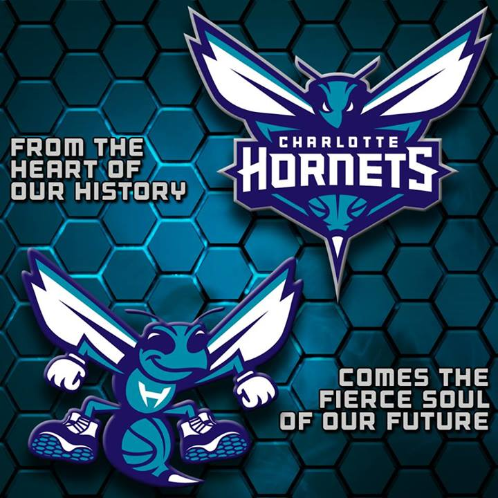 Charlotte Hornets reveal their new logo…and it's nice!