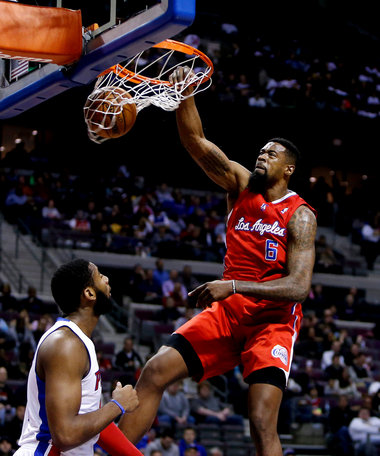 Deandre Jordan Dunk On Serge Ibaka