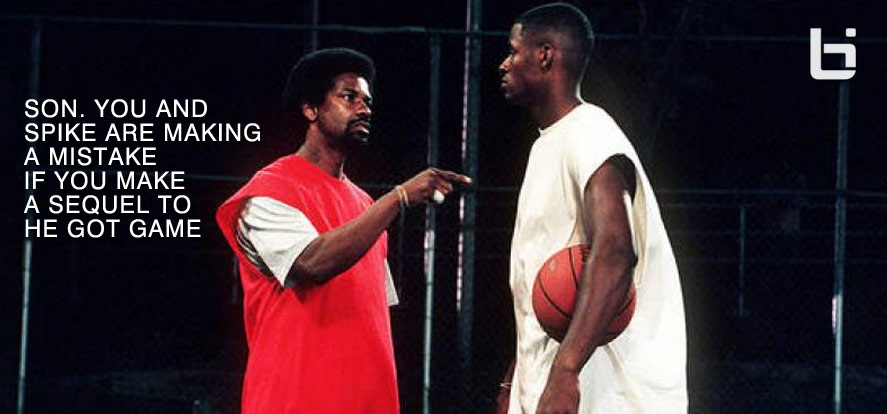 Ray Allen & Spike Lee discussing 'He Got Game' sequel – This is why it would be a huge mistake