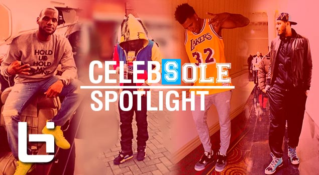 Lebron James & Wale Shows Off Their Dope Kicks