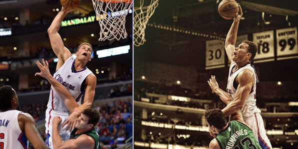 Blake Griffin posterized Kris Humphries so people would stop mistaking the two for each other