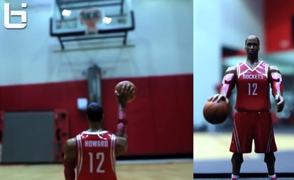 Rockets Promo for Dwight Howard Action Figure Toy