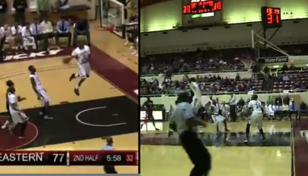 Eastern Kentucky's Marcus Lewis is back with more crazy dunks | 3 vs Skyhawks