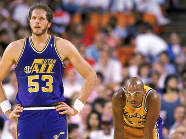 Mark Eaton – the man who missed more triple-doubles because of points…