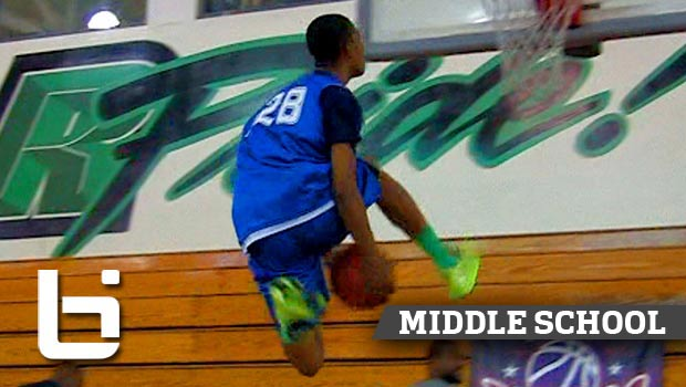 8th Grader W/ BOUNCE Cassius Stanley Is Full of Potential! Shows OUT at Pangos Jr Camp!