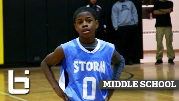 8th Grader PG Chase Adams Shows Off Handles & Advanced Passing Ability!