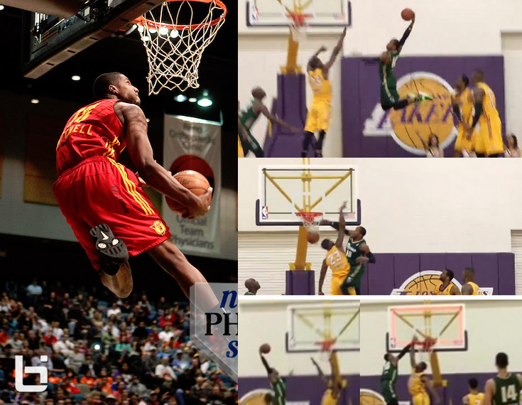 Tony Mitchell & Ra'shad James will face off in the 2014 D-League Dunk Contest