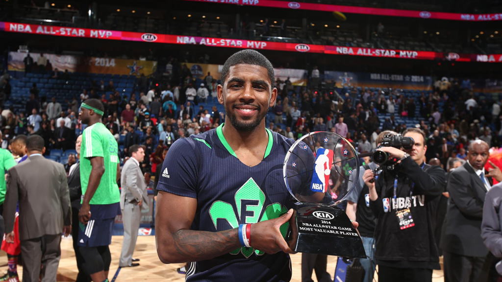 Kyrie Irving MVP 2014 All-Star