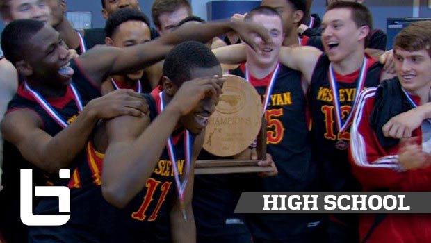 Theo Pinson Leads Wesleyan Christian to 2nd Straight State Championship